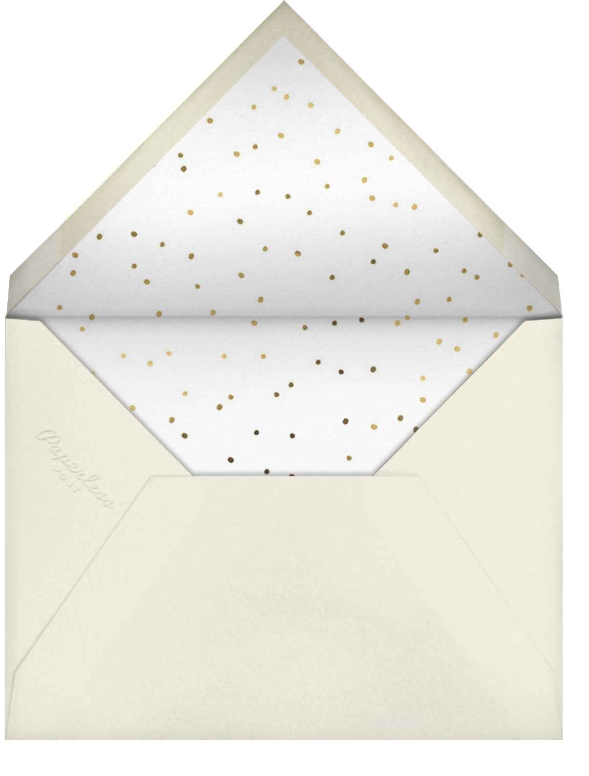 Reach for the Stars - Gold (Greeting) - Hello!Lucky - Graduation - envelope back