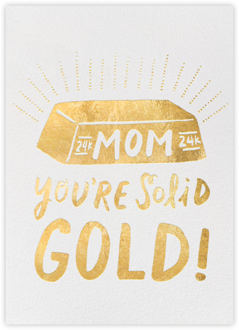 Solid Gold Mom - Hello!Lucky - Hello!Lucky Cards