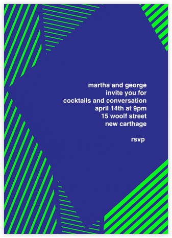 Marfa - Indigo - Paperless Post - Summer entertaining invitations