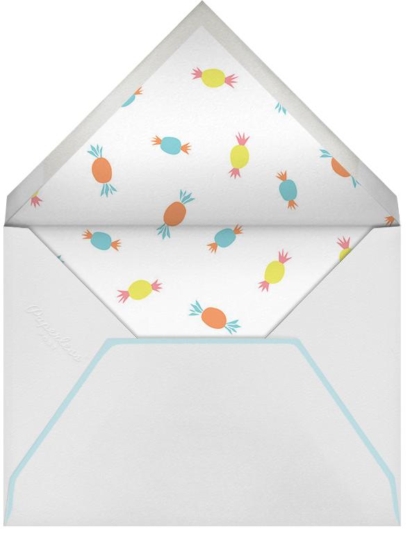 Allie's Birthday Bash - Little Cube - Kids' birthday - envelope back