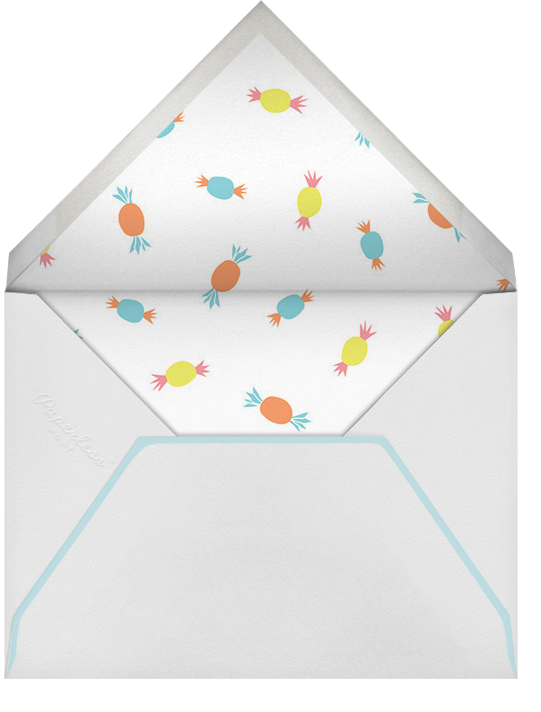 Allie's Birthday Bash (Photo) - Little Cube - Kids' birthday - envelope back