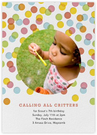 Rainbow Confetti - Petit Collage - Balloons and confetti