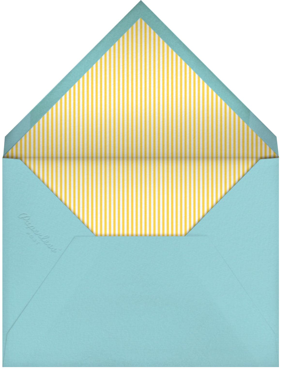 Jungle Birthday Bash (Greeting) - Little Cube - Birthday - envelope back