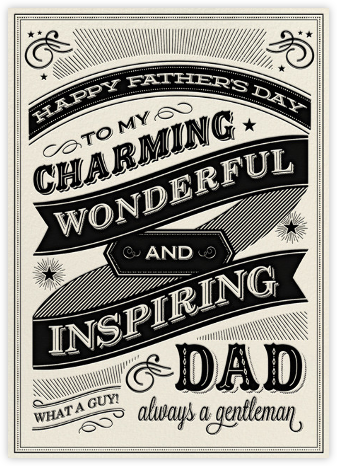 Chalkboard Dad - Hello!Lucky - Father's Day Cards