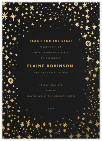 Stars in the Sky - Hello!Lucky - Celebration invitations