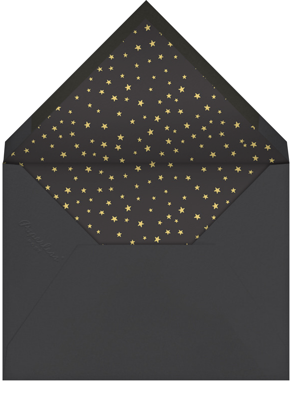 Stars in the Sky - Hello!Lucky - Graduation party - envelope back