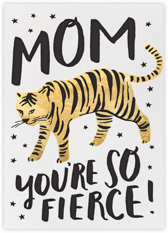 Tiger Mom - Hello!Lucky - Mother's day cards