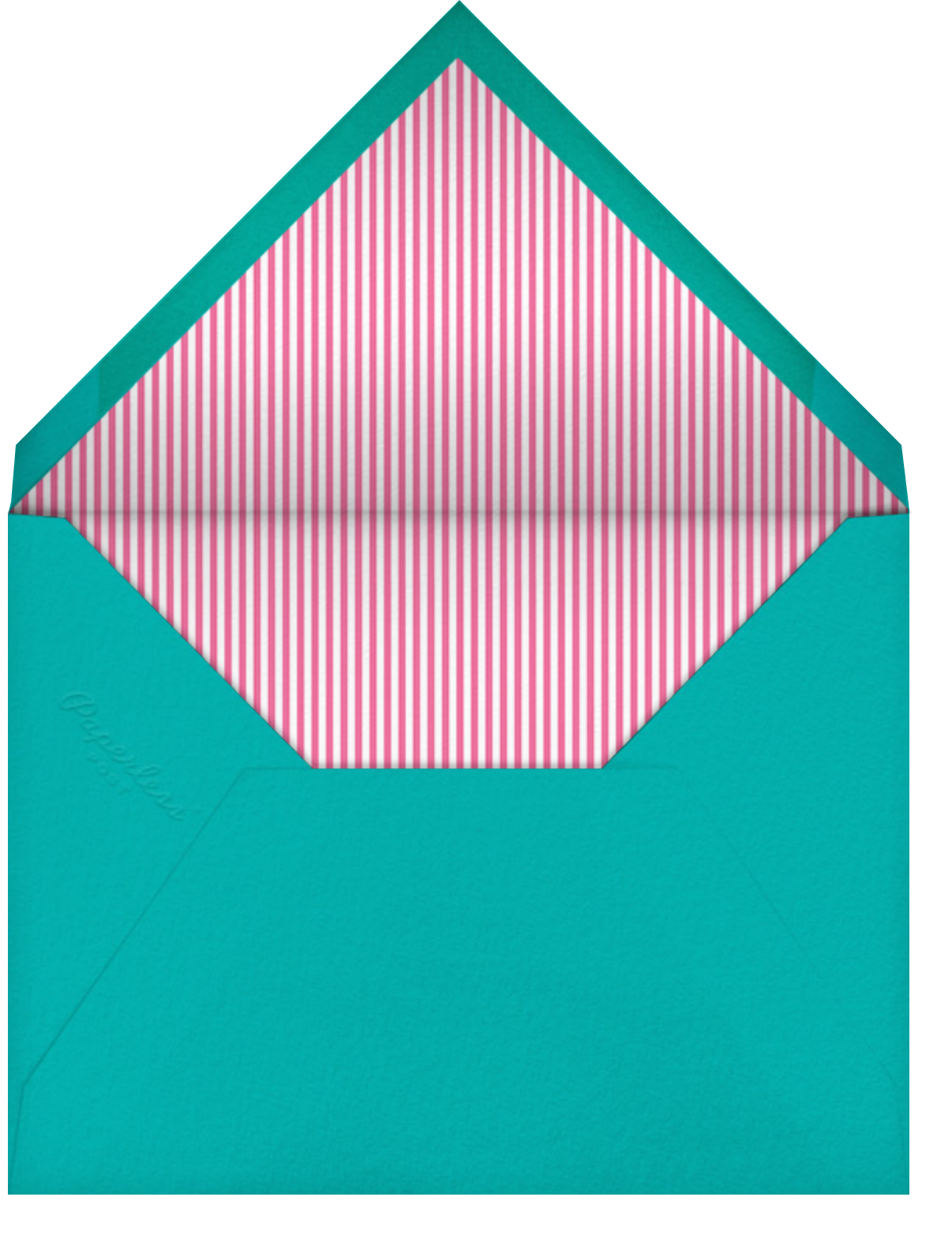 Ring Around the Daisy (Photo) - Blue - Little Cube - Envelope