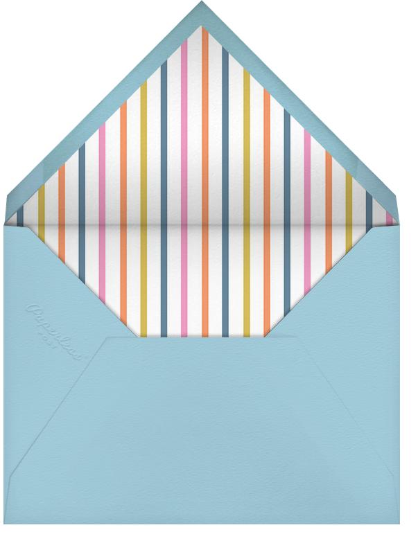 Royal Party - Little Cube - Kids' birthday - envelope back