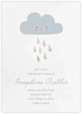 Shower Power - Little Cube - Baby shower invitations