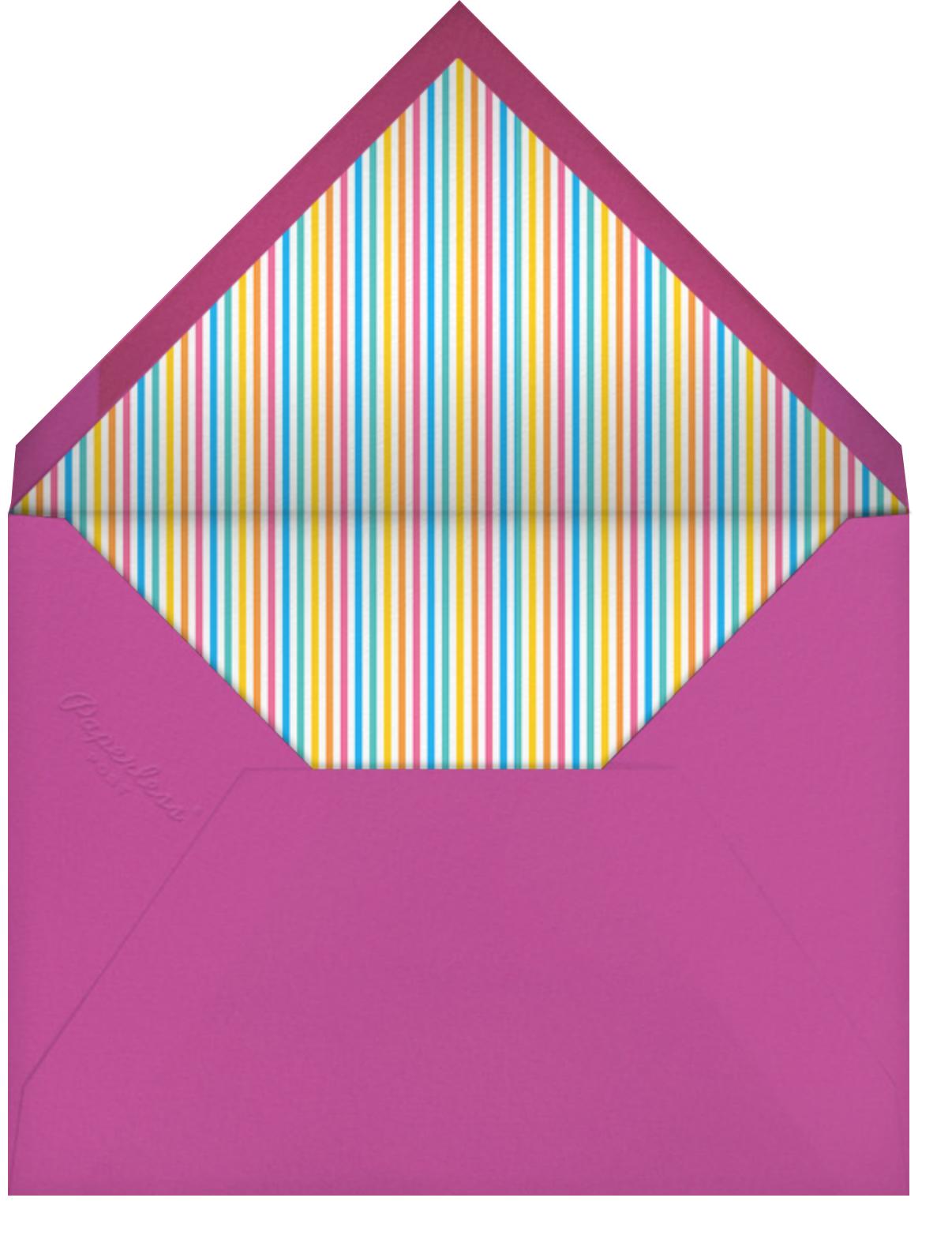 Sweet Treats for Allie (Photo) - Little Cube - Kids' birthday - envelope back