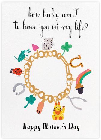 Charm Bracelet - Mr. Boddington's Studio - Mother's Day Cards