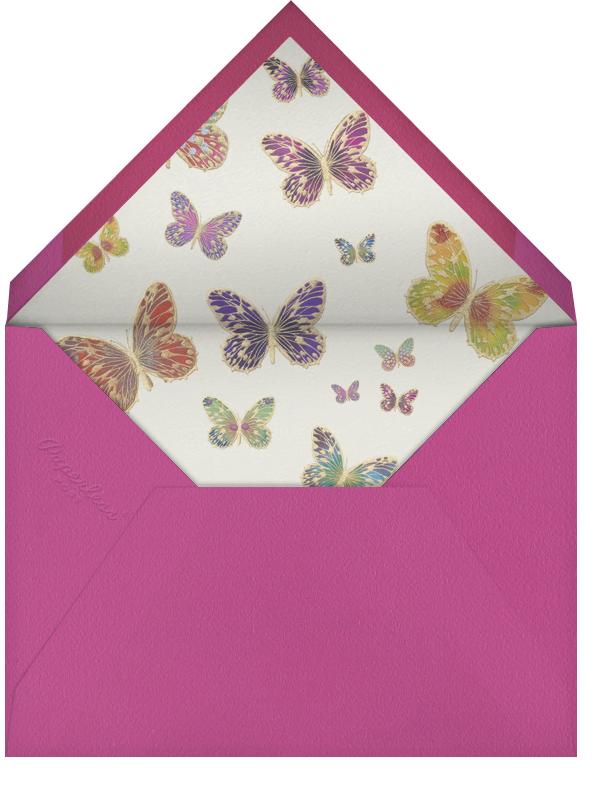 Mother's Flourish - Bernard Maisner - Mother's Day - envelope back