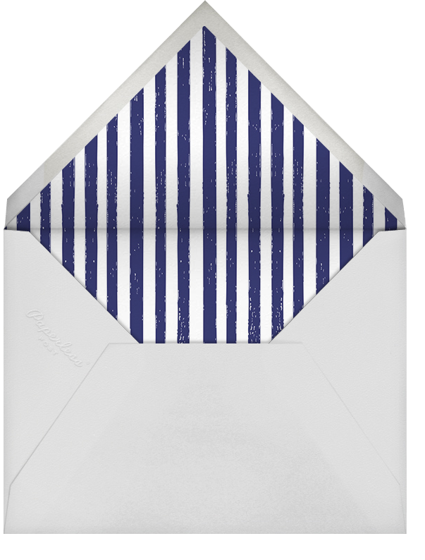 A Big Mackerel - Fair - Mr. Boddington's Studio - Birthday - envelope back