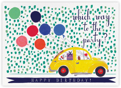 Balloons for the Bug - Mr. Boddington's Studio - Online Greeting Cards