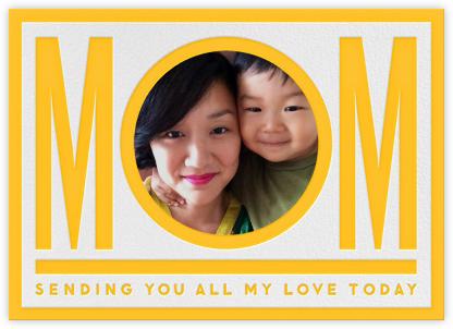 Mom - Yellow - The Indigo Bunting -