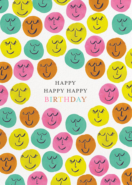 Happy Happy Happy - Mr. Boddington's Studio - Mr. Boddington's studio