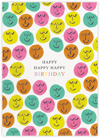 Happy Happy Happy - Mr. Boddington's Studio - Birthday cards