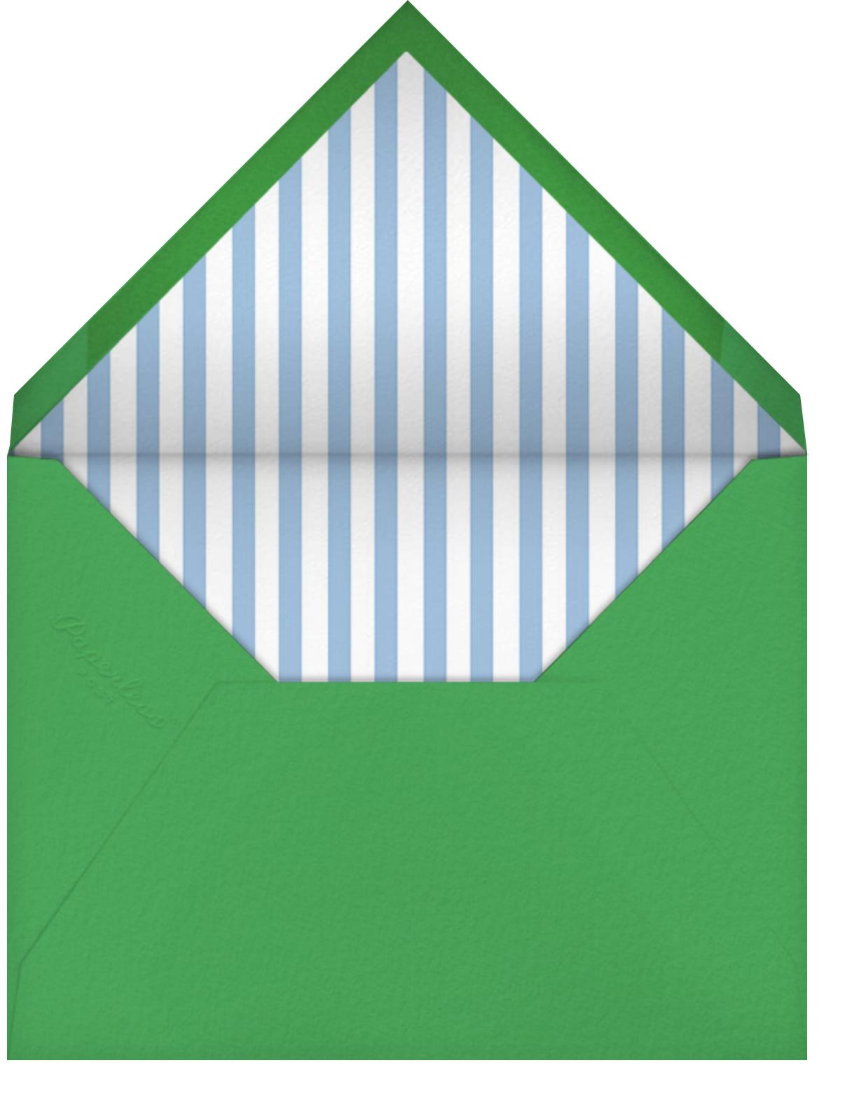 Pineapple for My Hostess - Mr. Boddington's Studio - Thank you - envelope back