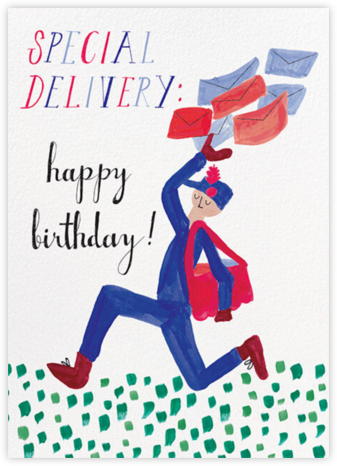 Special Delivery - Fair - Mr. Boddington's Studio - Birthday Cards