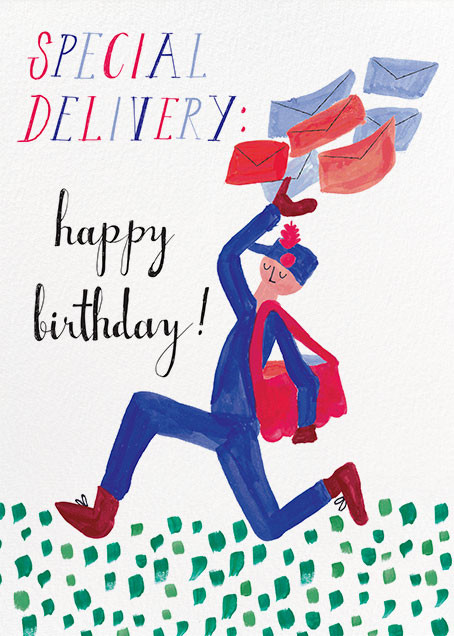 Special Delivery - Mr. Boddington's Studio - Birthday cards