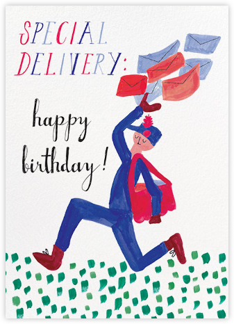 Special Delivery - Mr. Boddington's Studio - Greeting cards