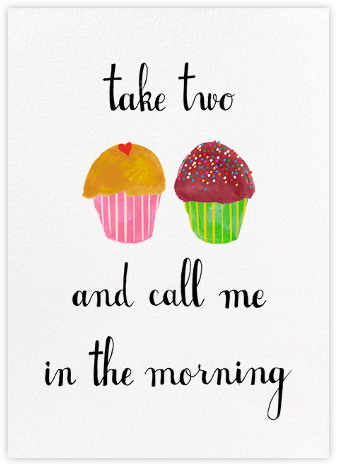 Take Two and Call Me in the Morning - Mr. Boddington's Studio - Online Greeting Cards