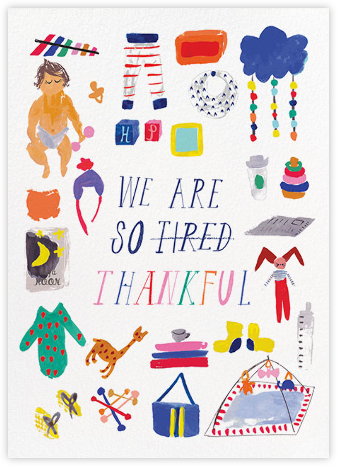 We are so Tired - Mr. Boddington's Studio - Online Cards