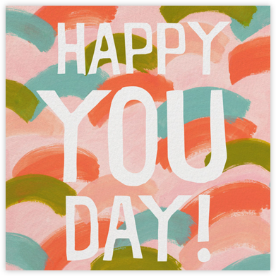 You Day - Pink - Ashley G - Greeting cards