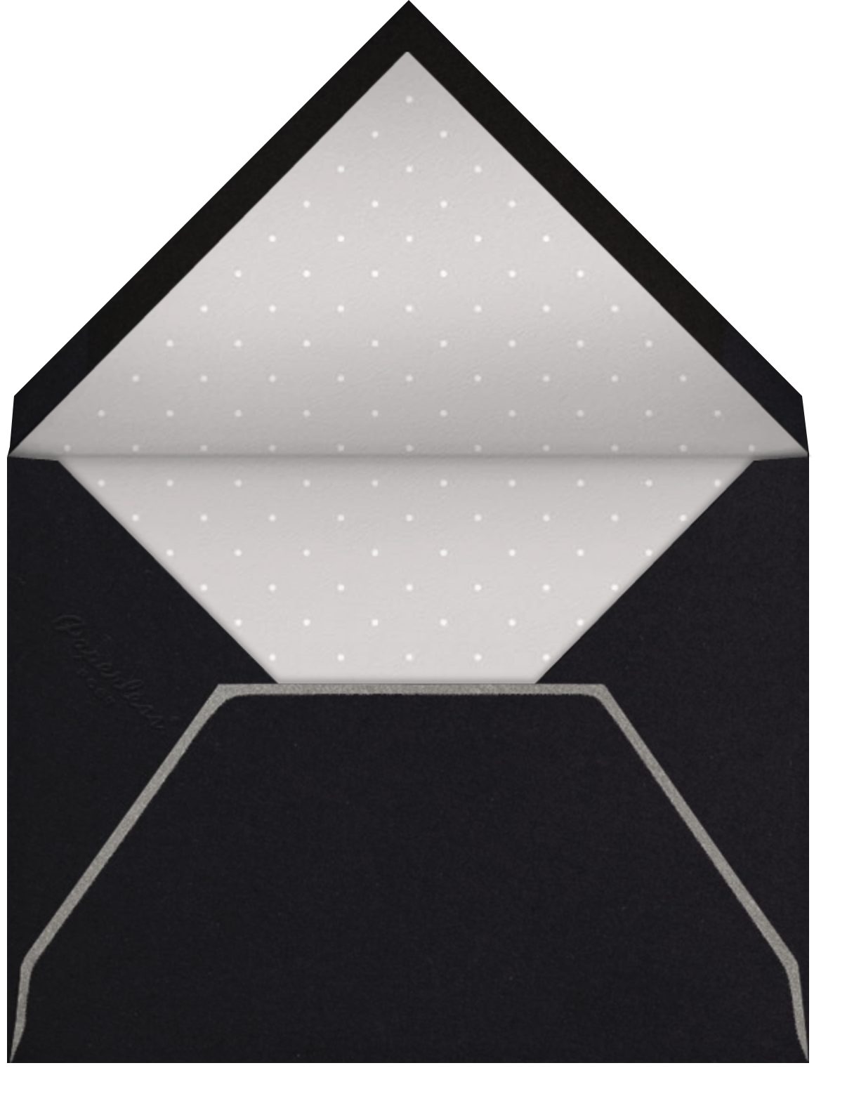Burst Forth - Black - Paperless Post - Envelope