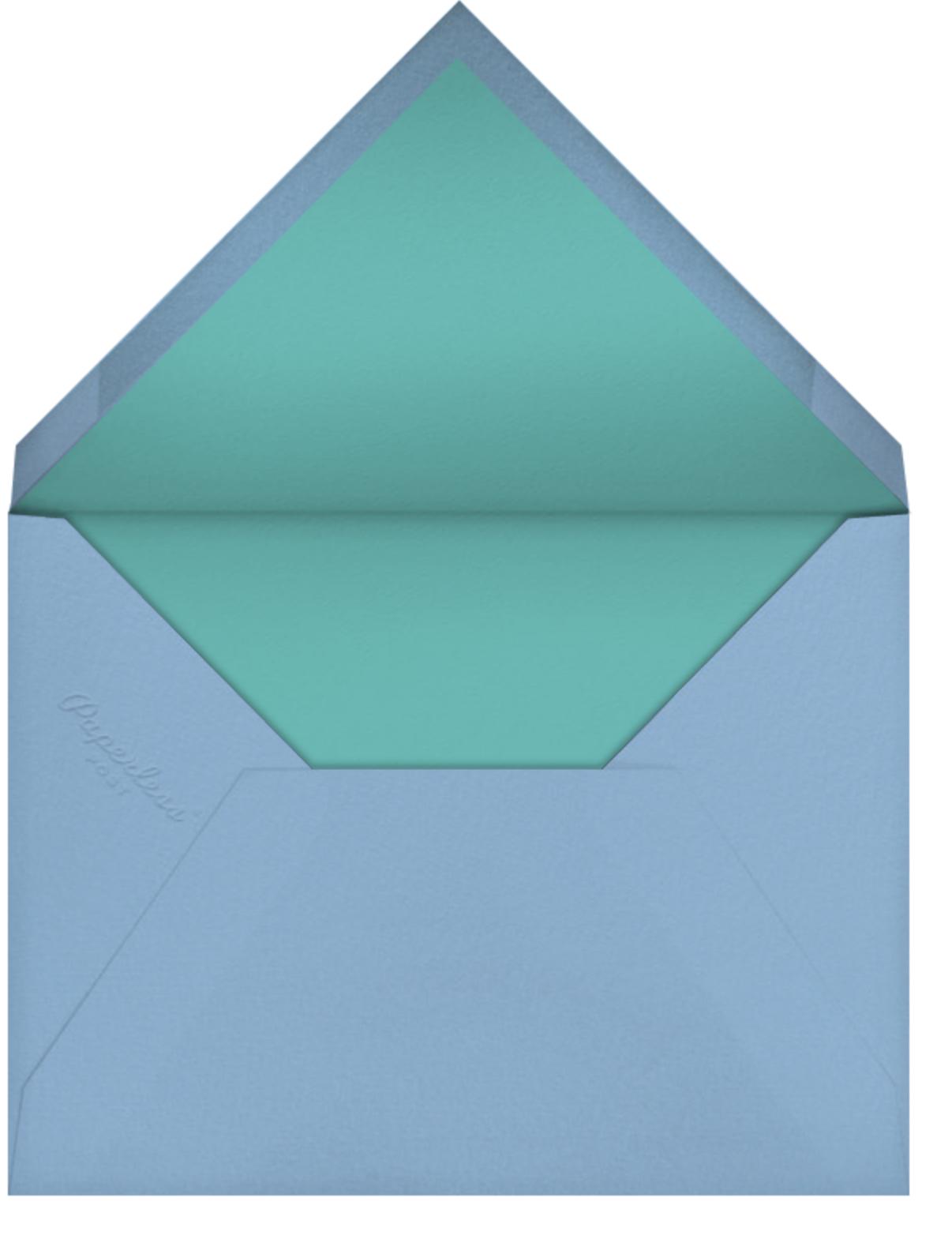 Faces (Stationery) - Petit Collage - Kids' stationery - envelope back