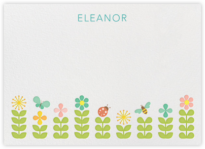Garden (Stationery) - Petit Collage - Baby and kids' stationery