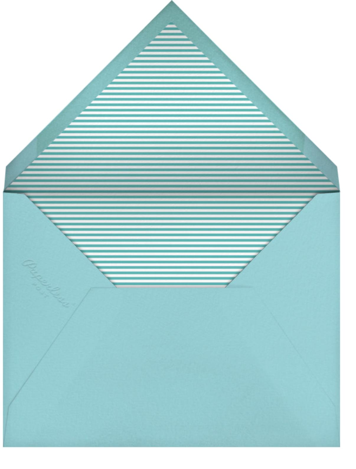 Owl (Stationery) - Petit Collage - Kids' stationery - envelope back