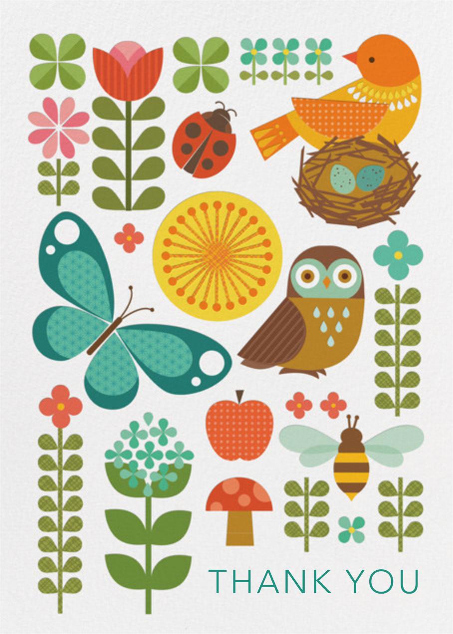 Garden Parade - Petit Collage -