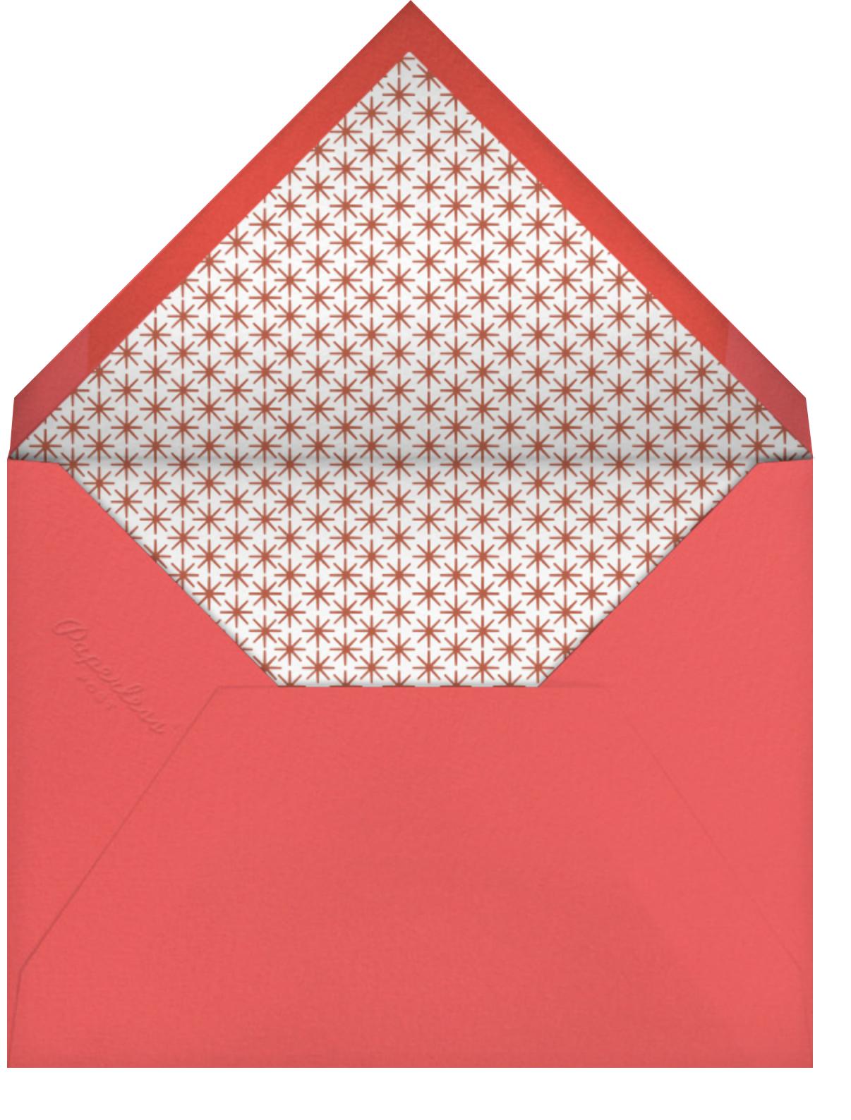 Harlequin - Pink - Petit Collage - Kids' birthday - envelope back