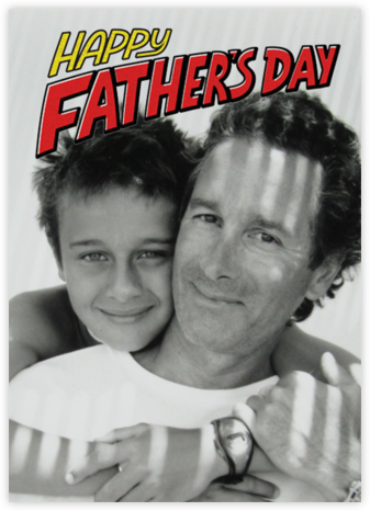 Pulp Pop - Paperless Post - Father's Day cards