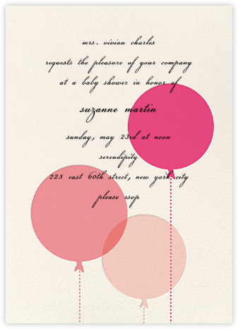 Balloon Baby - Pink - kate spade new york - giggle