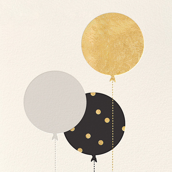 Balloon Birthday (Greeting) - kate spade new york - Online greeting cards