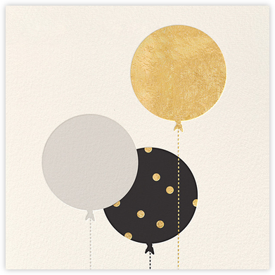 Balloon Birthday (Greeting) - kate spade new york - Kate Spade invitations, save the dates, and cards