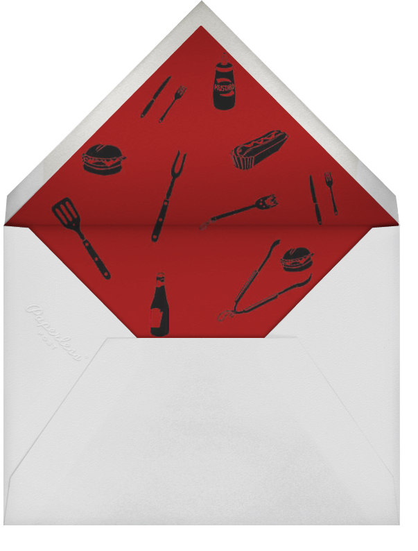 Star Spangles (Photo) - Paperless Post - 4th of July - envelope back
