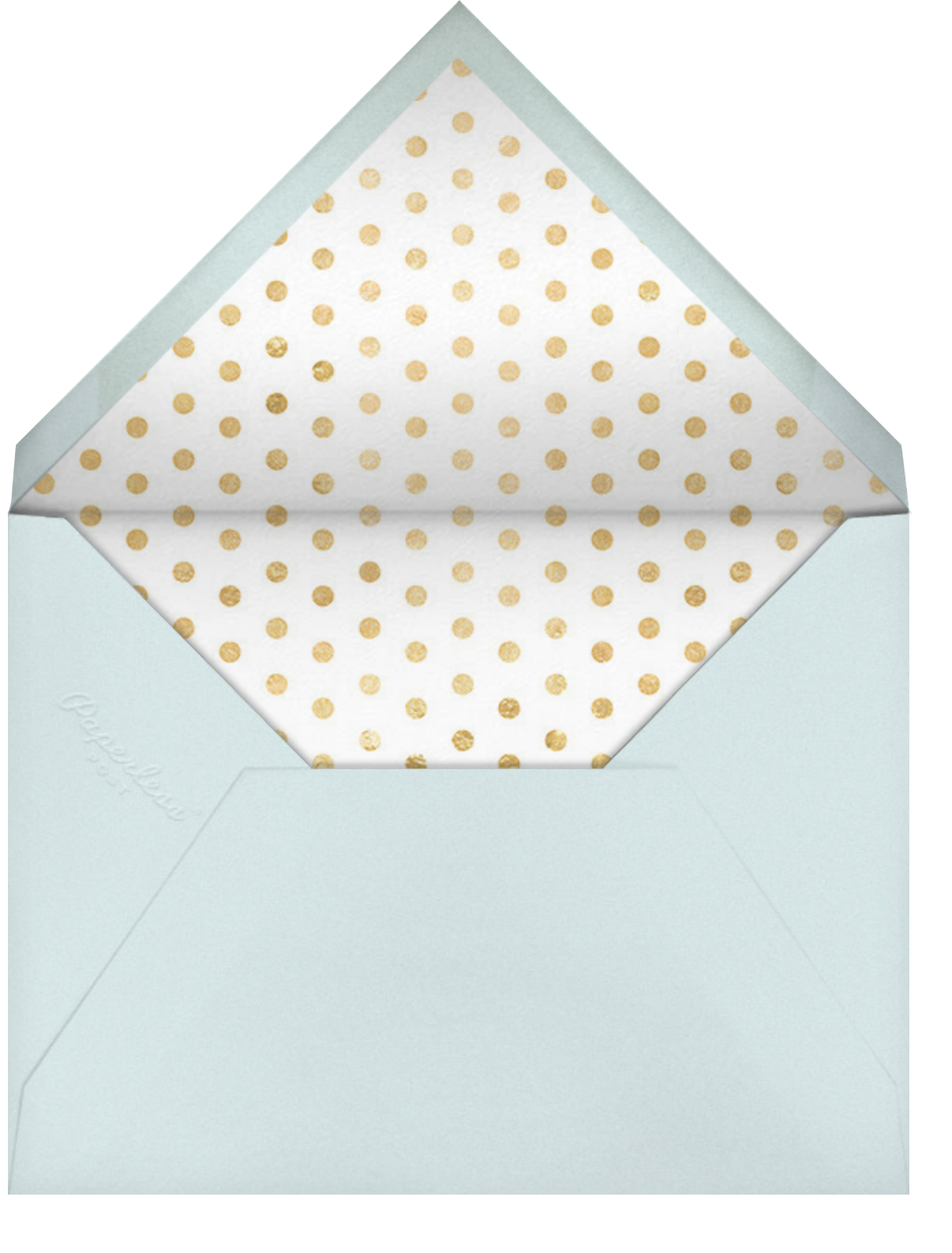 Daisy Place Shower - kate spade new york - Baby shower - envelope back