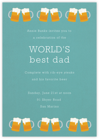 Cold Boys - Paperless Post - Father's day invitations
