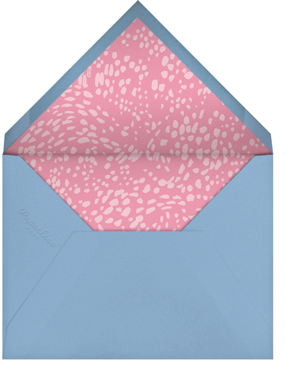 Candy-Filled - Happy Menocal - Kids' birthday - envelope back