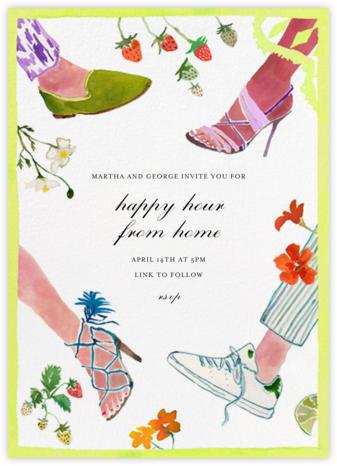 Garden Mixer - Happy Menocal - Invitations for Entertaining