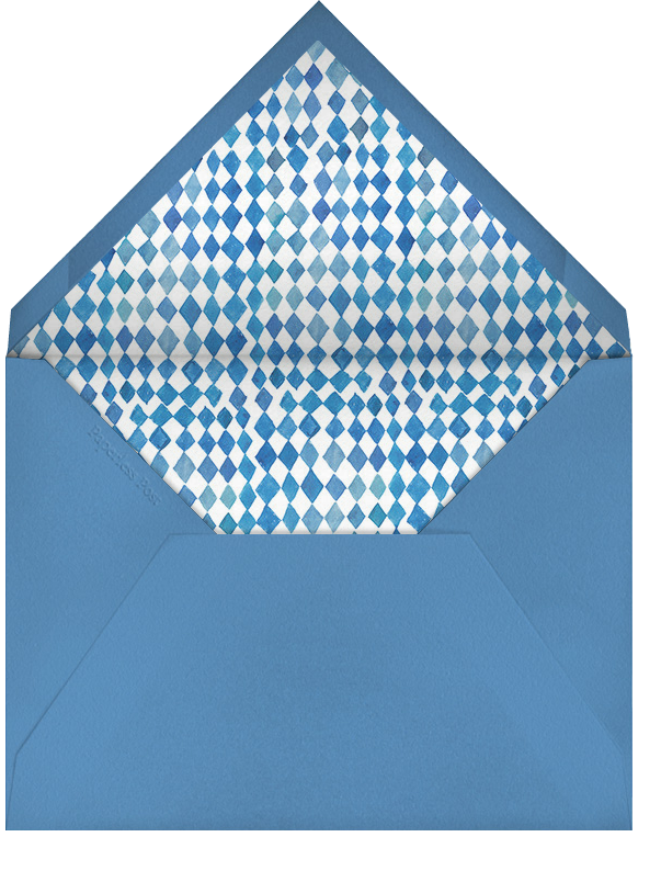 Great Marlin - Happy Menocal - Personalized stationery - envelope back