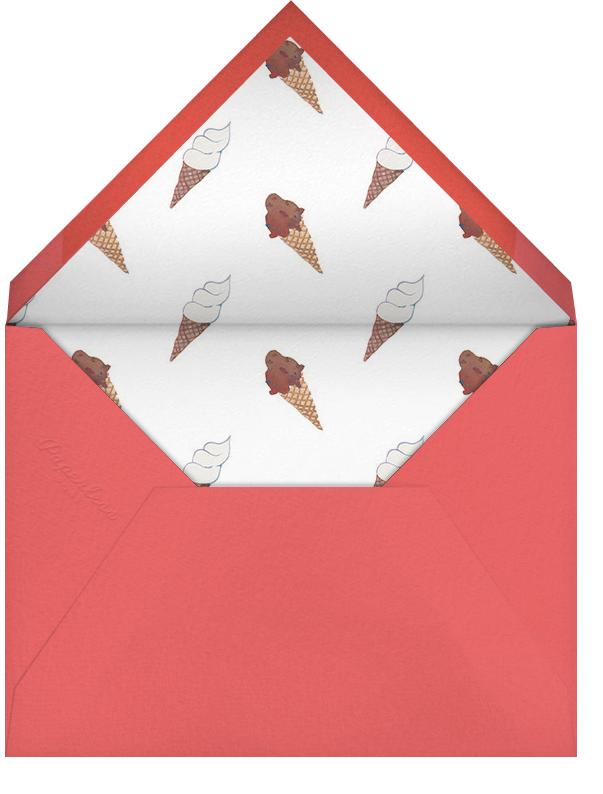 Sundae Split - Happy Menocal - General entertaining - envelope back