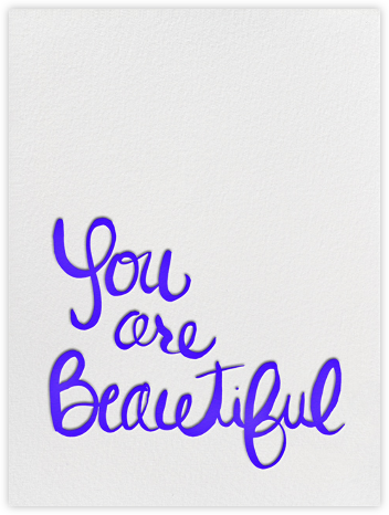 You Are Beautiful | tall