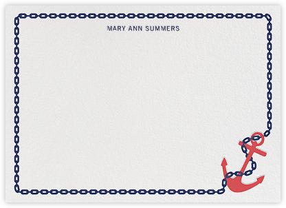 Anchors Aweigh (Stationery) - Jonathan Adler -