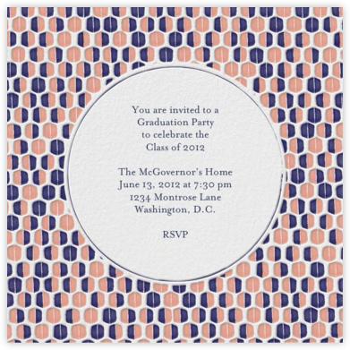 Mrs. Robinson - Guava - Mr. Boddington's Studio - Graduation Party Invitations