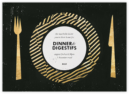 Trompe - Kelly Wearstler - Dinner Party Invitations